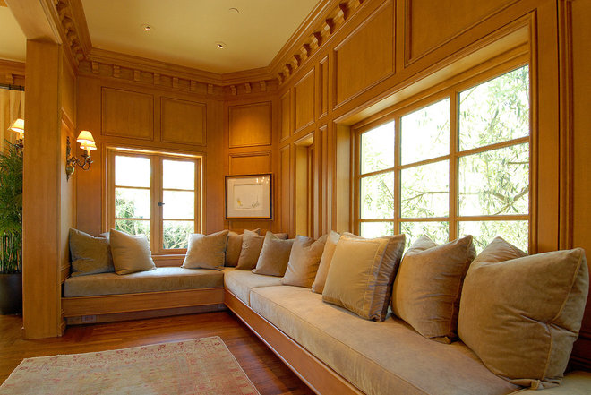 Traditional Family Room by Sutton Suzuki Architects