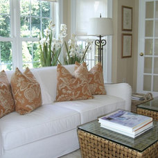 Traditional Family Room by J A Graff Design