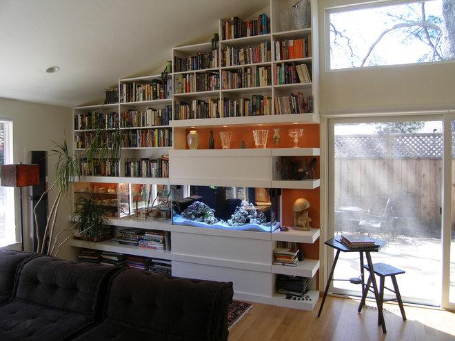 Contemporary Family Room by InHouse Design Studio