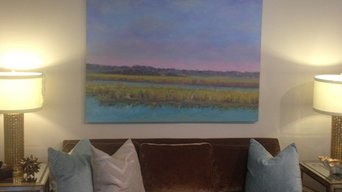 Marsh Oil Painting