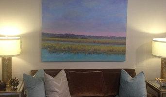 Marsh Oil Painting