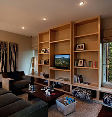 contemporary family room by sagemodern