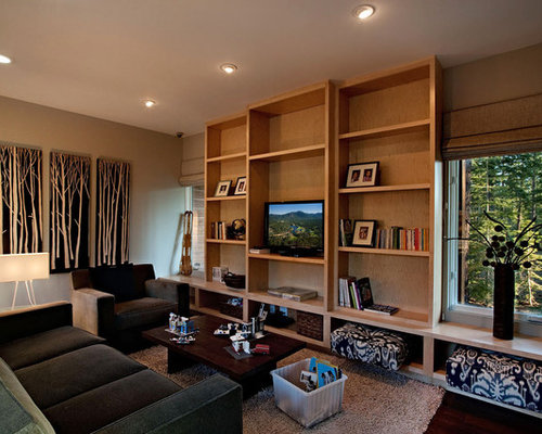 Small tv room houzz Tv room