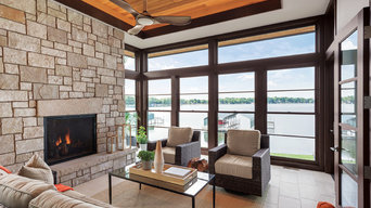 Marvin Clad Ultimate Insert Double Hung Next Generation Family Room Beach