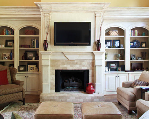 Fireplace Bookcases | Houzz
