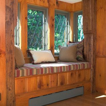 Massachusetts Oceanfront Home - Family Room Window Seat