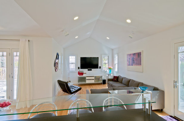 Contemporary Family Room by Studio Z Architecture