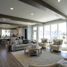 Traditional Family Room by Weaver Custom Homes