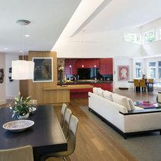 Modern Family Room by McIntosh Poris Associates