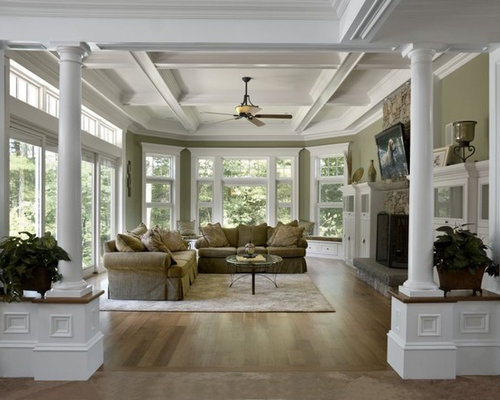 12 Foot Ceiling Living Design Ideas Remodels Photos Houzz