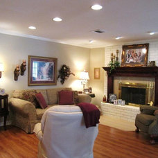 Traditional Family Room by McLarrin Flooring & Counter Tops