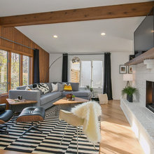 Houzz Tour: Midcentury Home in Michigan Finds New Life