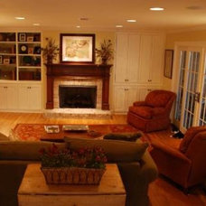 Traditional Family Room by Jan Reynolds Interiors