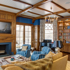Traditional Family Room by Significant Homes LLC