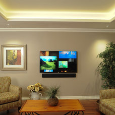 Traditional Family Room by The Integrated Lifestyle