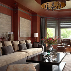 Traditional Family Room by Twist Interior Design