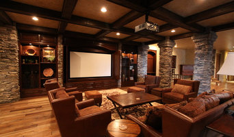 Media Room with Projector