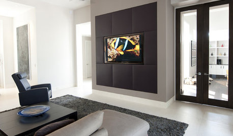 This Media Unit Hides the TV in Plain Sight