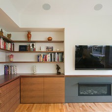 Contemporary Family Room by SHED Architecture & Design