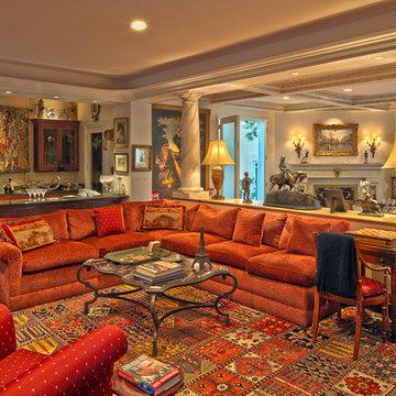 Mediterranean Century Woods Home | Century City