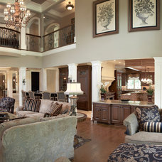 Mediterranean Family Room by Guidi Homes