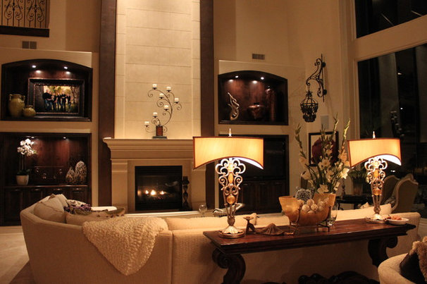 Mediterranean Family Room Mediterranean family room