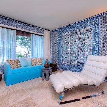 Mediterranean Family Room