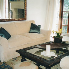 Traditional Family Room by Vivian Angelini