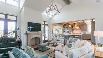 Mediterranean Style Custom Home in Fort Worth