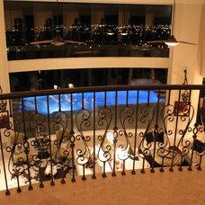 Mediterranean Family Room Mediterranean style family room