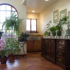 Mediterranean Family Room by Intelligent House Design