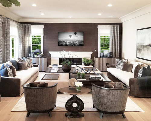 Family Room With Tv 10 best family room with a wall-mounted tv ideas | houzz