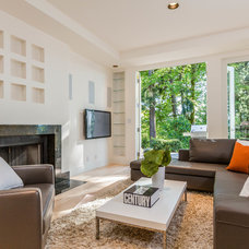 Contemporary Family Room by Dennis Paige Real Estate