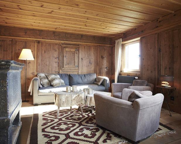 Rústico Sala de estar by Meier Architekten