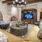 Colonia Serendipity - Contemporary - Living Room - Austin ...