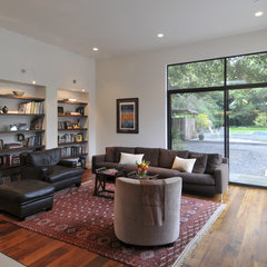 contemporary family room by Ana Williamson Architect