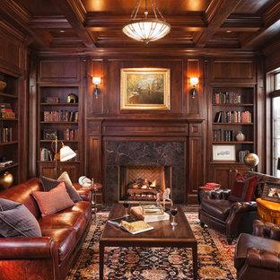 Dark Brown Leather Sofa | Houzz