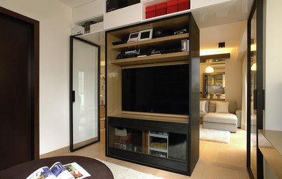 13 Compact TV Wall Unit Designs Perfect for City Homes