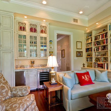 Traditional Family Room by Montgomery Roth Architecture & Interior Design