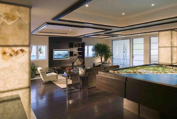 Modern Family Room by Pepe Calderin Design- Modern Interior Design