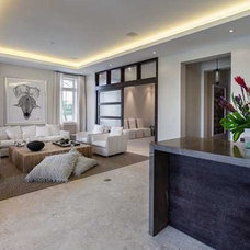 Contemporary Family Room by MS2 Design Studio