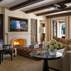 Traditional Family Room by MICHAEL MOLTHAN LUXURY HOMES