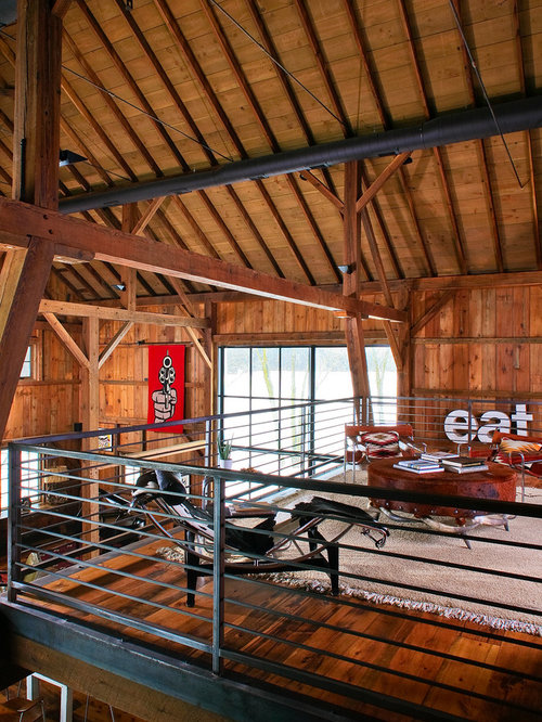 Best barn loft design ideas remodel pictures houzz for Barn loft homes