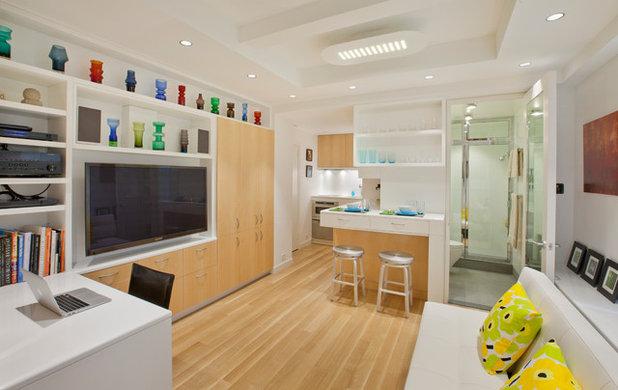 Скандинавский Семейная комната by Allen+Killcoyne Architects