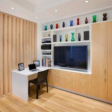 Contemporary Family Room by Allen+Killcoyne Architects