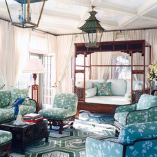 Eclectic Family Room by Anthony Baratta LLC