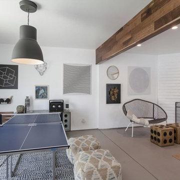 Mid-century-modern full house remodel