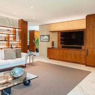 Mid Century Modern Home Renovation - Family Room