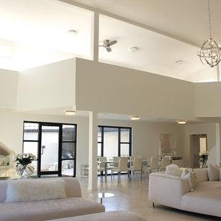 Mid Century Modern shades of white & cream