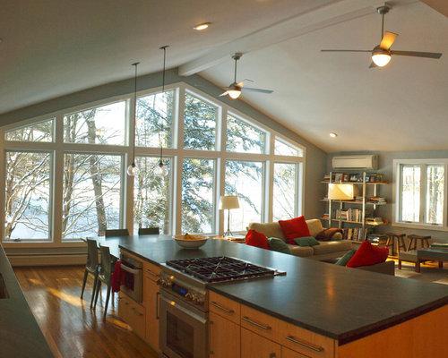 Ideas para salas de estar dise os de salas de estar - Televisores sin marco ...